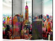 Paraván - Colors of New York City II [Room Dividers]
